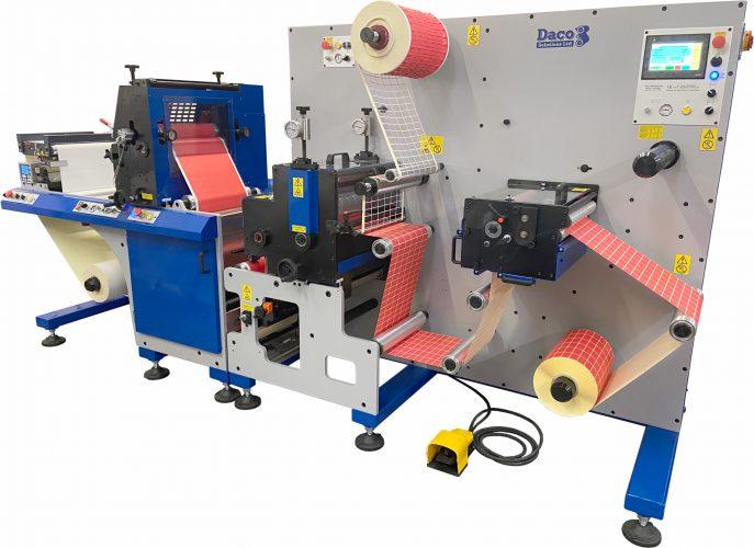 Daco FLX350 Flexographic Label Press - AM Labels Limited - April 2020