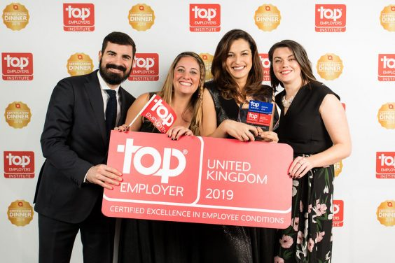 Whirlpool Certified as Top Employer in Europe for 2019