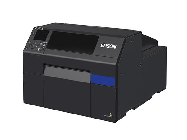 Epson Colorworks printer CW6500 cutout-lo