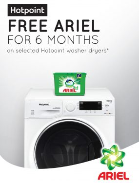 Hotpoint Launches Laundry Promotion with Ariel