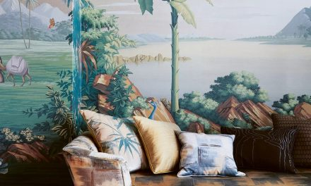 Trending Murals and Compact Gardens