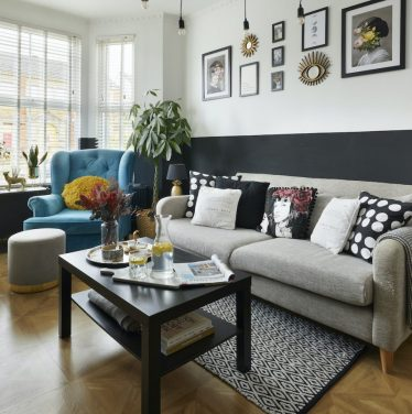 Cosy Bedrooms and Black Interiors