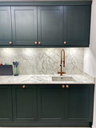 HotSpot Titanium Flex XL in Copper, pictured in Newark Interiors kitchen showroom