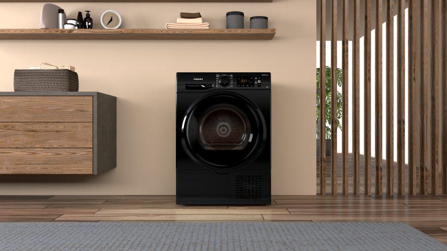 Hotpoint 9 kg condenser tumble dryer (H3 D91B UK) - lifestyle