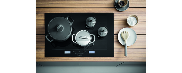 New Hotpoint ActiveCook Induction Hobs Help Everyone Cook Great Dishes