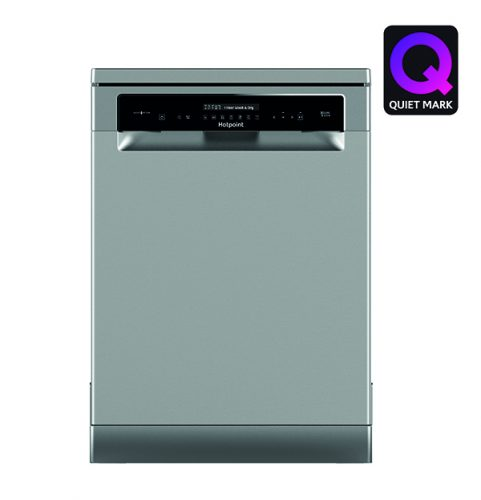 Hotpoint Freestanding dishwasher HFP 4O22 WG C X Quiet Mark - lo