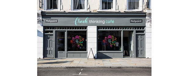 Hotpoint Opens the Doors to its Fresh Thinking Pop-Up Cafe