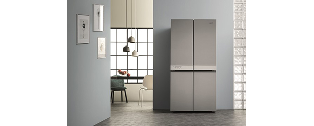 Hotpoint Launches New 4-Door Fridge Freezer