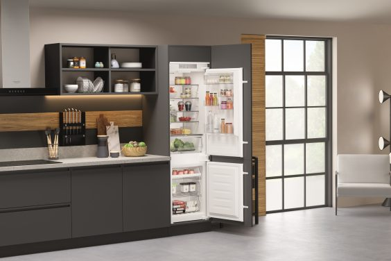 Hotpoint Launches New Built-in Fridge Freezers