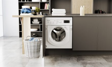 Hotpoint Integrated Washer Dryer Offers Generous Capacity and Superior Cleaning