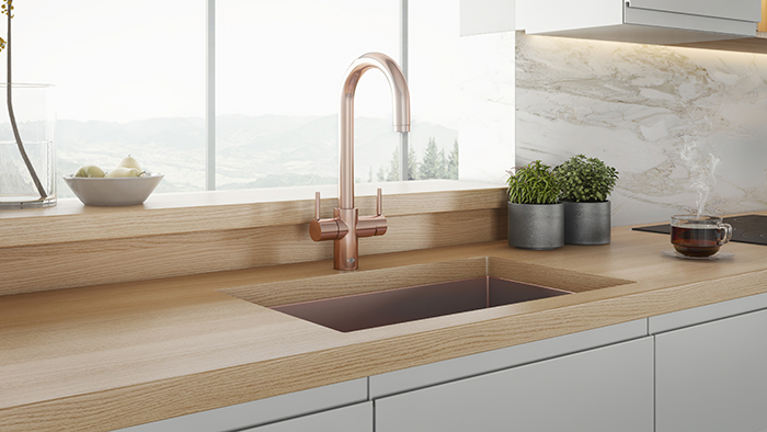 InSinkErator 3N1 Rose Gold - Lifestyle-lo