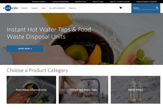 InSinkErator Launches Brand New Website