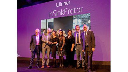 InSinkErator Wins Best Online Social Media Award at ek&bbusiness Awards & Review 2018