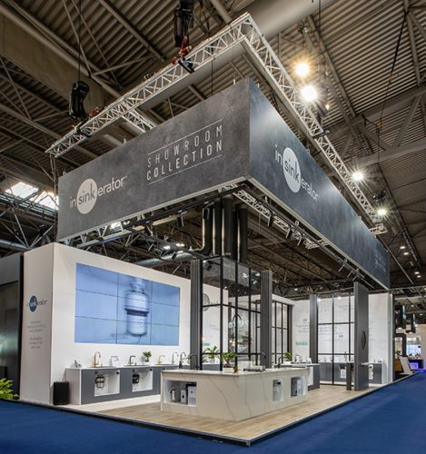 InSinkErator - kbb 2020 - Exhibition stand - lo