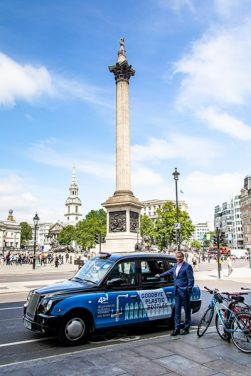 InSinkErator Highlights Bottled Water Alternative in London Taxi Campaign