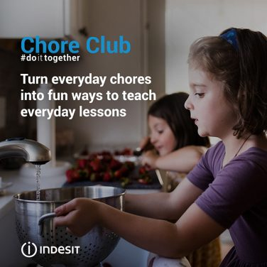 Indesit Introduces Chore Club To Encourage Housework Sharing