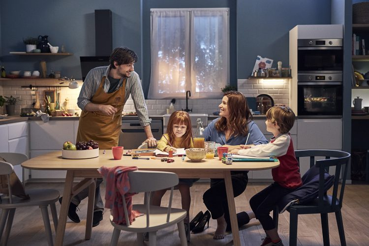 Indesit #DoItTogether campaign