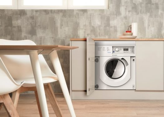 Indesit Launches Easy-To-Use Built-In Washing Machine and Washer Dryer