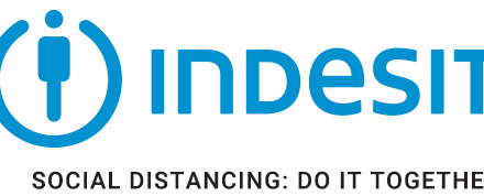 Indesit adapts its logo to show solidarity with its employees, consumers and communities