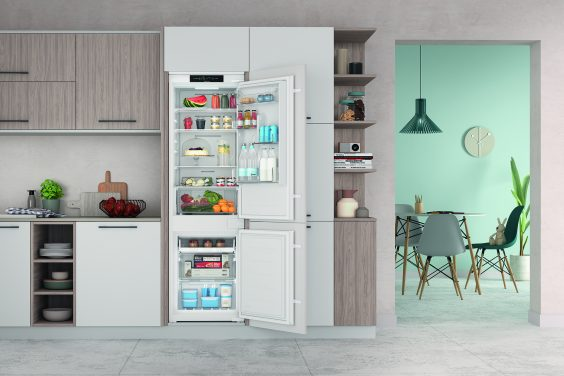 Indesit Launches Push&Go Built-In Fridge Freezer With Total No Frost Technology
