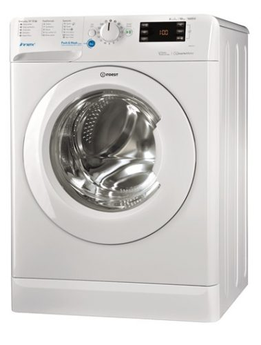 Indesit washing machine BWE 101684X W UK - lo