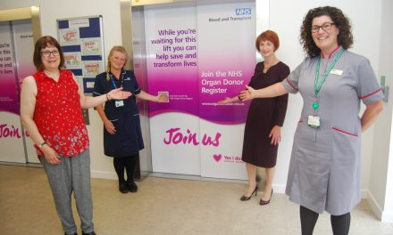 jmm PR Supporting Kettering General Hospital in Raising Awareness of Organ and Tissue Donation