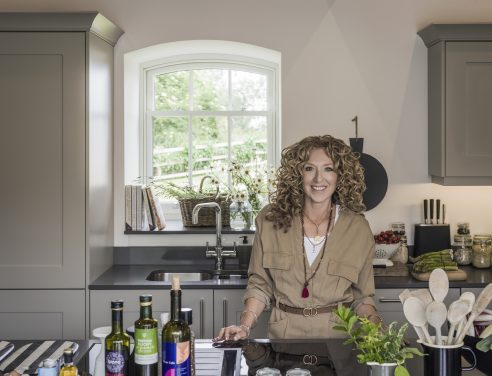 Kelly Hoppen Endorses InSinkErator Specialist Kitchen Taps and Food Waste Disposers