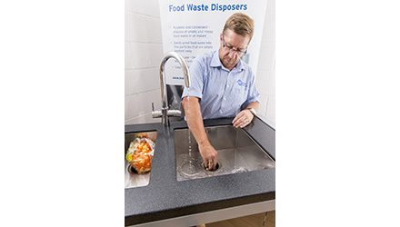 InSinkErator Supports PhD Food Waste Study