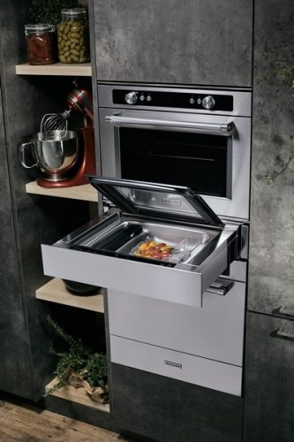 KitchenAid Chef Touch collection including 14 cm vacuum drawer (KVXXX 14600) - lo