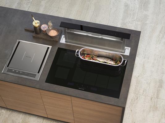 KitchenAid gourmet induction hob (KHIAF 10900) lifestyle - low