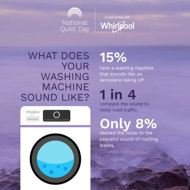 Washing Machines are Disrupting the Peace and Quiet