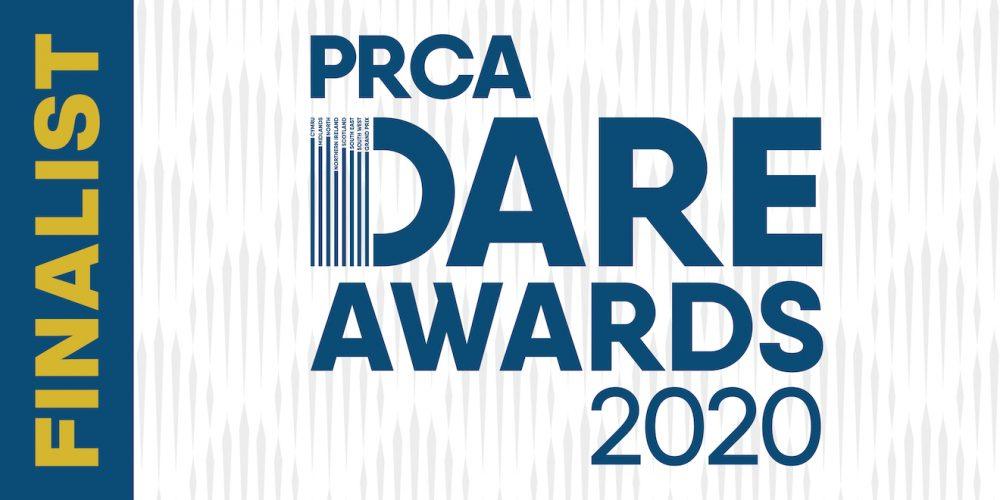 PRCA DARE20 Finalist logo