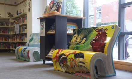 Whirlpool UK Appliances Limited Sponsors Peterborough Book Bench Trail