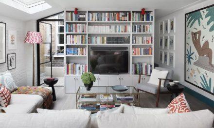 TV Ideas and Organised Hallways
