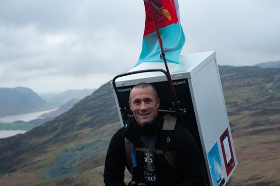 Hotpoint Supports 'The Fridge Hiker'