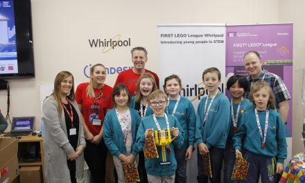 Whirlpool UK Appliances Ltd Hosts First IET FIRST LEGO League Tournament