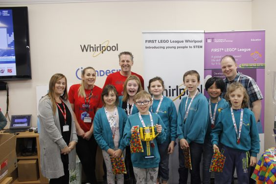 Whirlpool UK Appliances Ltd Hosts First IET FIRST LEGO League Tournament