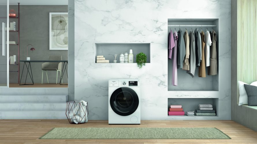 Whirlpool 10 kg SupremeSilence washing machine W8 W046WR UK - lifestyle - hi