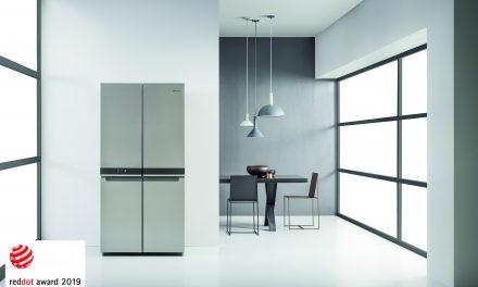 Whirlpool 4 Doors Fridge Freezer Honoured With Red Dot Award For Product Design