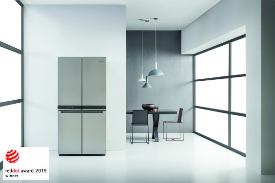 Whirlpool 4 Doors Fridge Freezer Honoured With Red Dot Award For Product Design