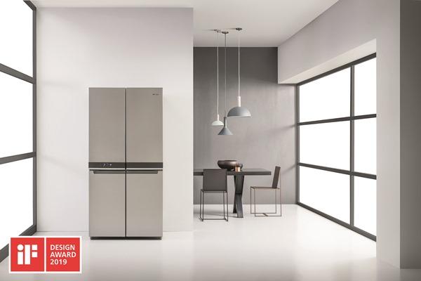 Whirlpool 4 Doors fridge freezer WQ9 B1L - iF Award - low