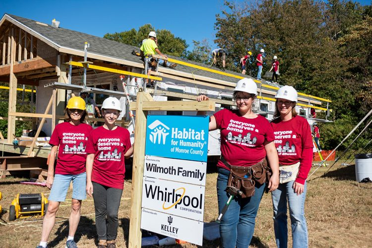 Whirlpool Corporation has supported Habitat for Humanity for 20 years