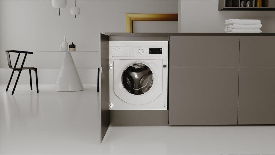 Whirlpool FreshCare 9 kg integrated washing machine BI WMWG 91484 UK - lifestyle