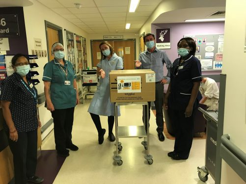 Whirlpool UK Appliances Ltd Donates Appliances to NHS Hospitals and Charities