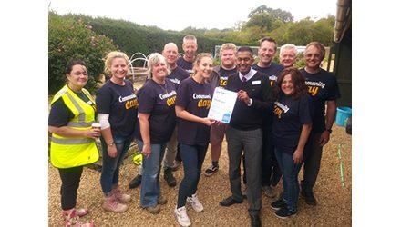 Whirlpool UK Employees Volunteer in Local Community